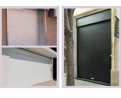 puertas enrollables y cierres para comercios, industrias o garajes