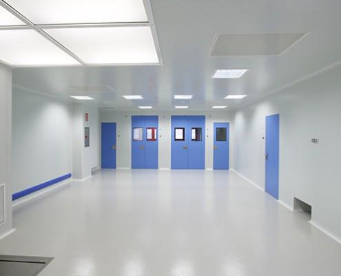 puertas para salas limpias o blancas