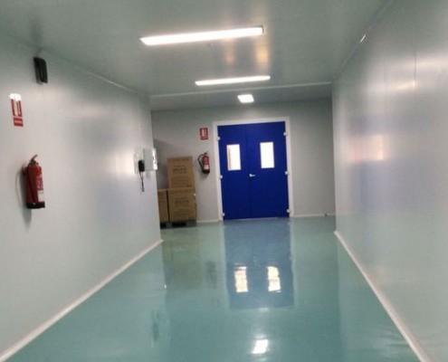 Puertas para salas blancas